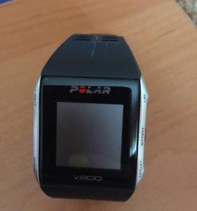 Часы Пульсометр Polar V800 HR black
