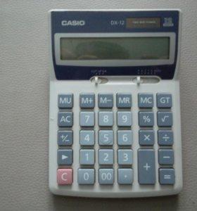 Калькулятор CASIO DX-12