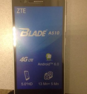 Zte a510 новый +79788496864