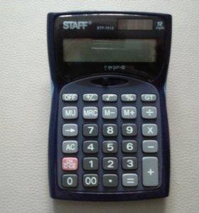 Калькулятор STAFF STF-7212