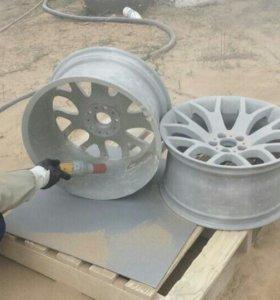 Реставрация автомобильных дисков