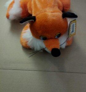 мягкая игрушка лиса.