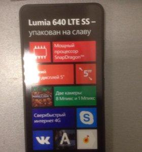 Lumia 640 новый +79788496864