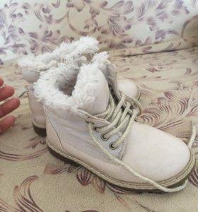 Весенние ботинки Zara