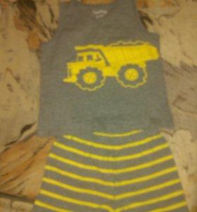 Комплект майка + шорты