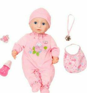 Кукла BABY ANNABELL многофункциональная с мимикой.