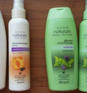 Набор для волос:шампунь и бальзам-спрей