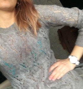 Кофта женская свитер шерстяная oodji