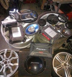 Автомобильная аккустика Pioneer