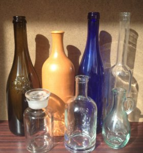 Бутылочки для воплощения творческих идей .