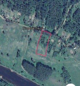 Земельный участок на берегу реки Волга
