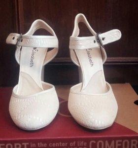 Новые туфли босоножки каблук 9-10см