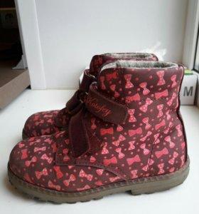 Ботинки на байке для девочки