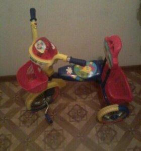 Велосипед детский трехкалесный