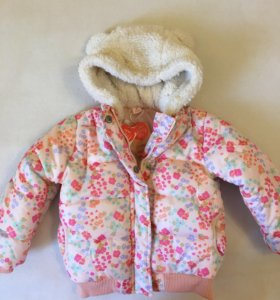 Зимняя новая куртка Koton на 1-2 года