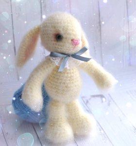 Заяц зайка пушистый