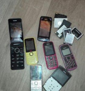 Телефоны и DVD на запчасти