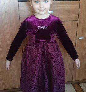 Платье новое 110 рост