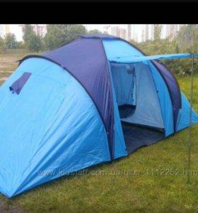 Палатка 4 местная двухкомнатная новая