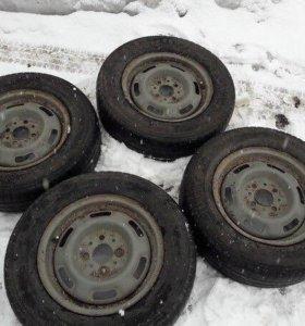 Продам летние колёса на 13