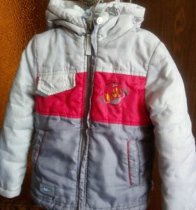 куртка демисезонная 3-5 лет
