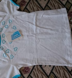Новые футболки на девочку