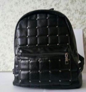 Новый Кожаный рюкзак 🔥