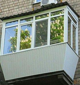 Пластиковые окна.балконы.перегородки.алюминиевые .