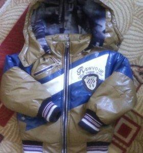 Куртка и штанишки болонь одеты пару раз
