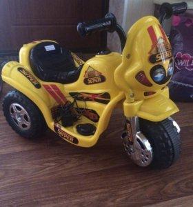 Детский мотоцикл электрический