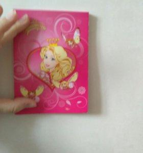 Блокнот принцесса