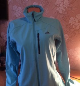 Куртка-Ветровка Adidas (на флисе)
