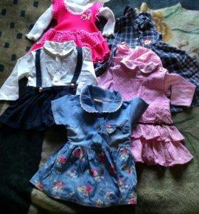 Платья для девочки на 1,5 -2,5года
