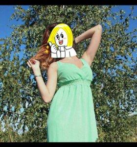 Платье летнее длинное в пол