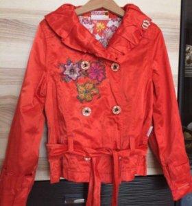 Куртка ветровка размер 128