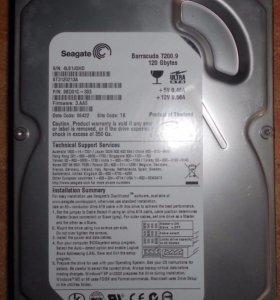 HDD seagate 120 GB.