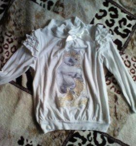 Водолазка- блуза
