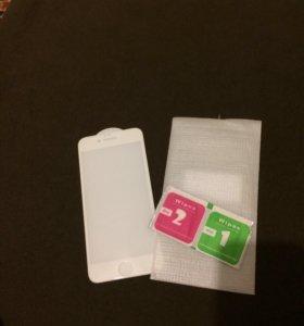 Продам стекло 3D на iPhone 6s 350р.