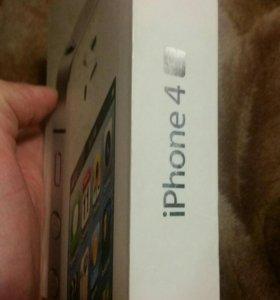 Коробка от Айфон 4 s