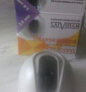Видеокамера цветная купольная