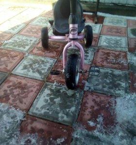 Детский велосипед без ручки