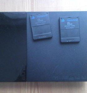 SONY PlayStation 2 и 12 игр.