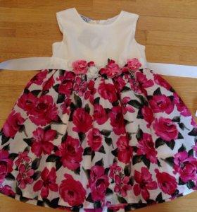 Платье Barilotto размер 3-4 года рост 98-104 новое