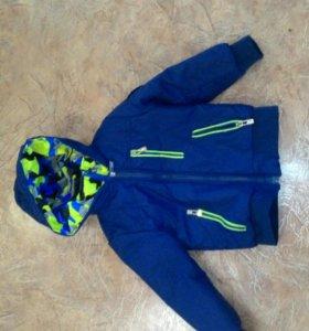 Куртка для мальчика весна 4-5 лет