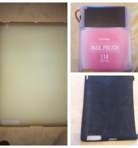 3 чехла-задника для iPad 2