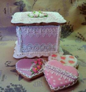 Имбирное печенье на заказ