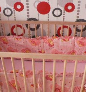 Борта для детской кроватки