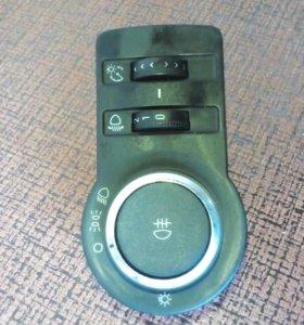 Блок управления светом (кнопка) шевроле Круз