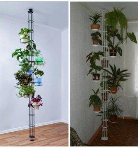 """распорка """"пол-потолок"""" для цветов"""