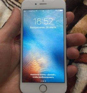 Айфон 6s silver